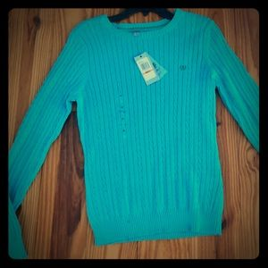 Izod traditional pullover sweater nwt size small
